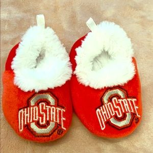 Other - Ohio State baby slippers